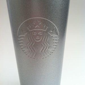 Starbucks Kitchen - Starbucks Silver Stainless Steel Cold Tumbler 16oz